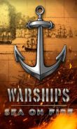 In addition to the game Dominoes for Android phones and tablets, you can also download Warships. Sea on Fire. for free.