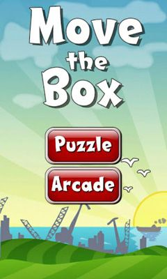 Screenshots of the Move the Box for Android tablet, phone.