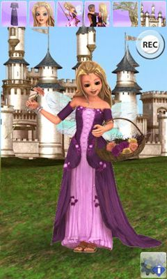 Screenshots of the My Little Princess for Android tablet, phone.