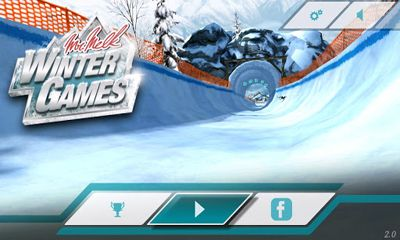 Screenshots of the Mr. Melk Winter Games for Android tablet, phone.