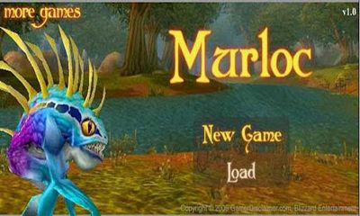 Screenshots of the Murloc RPG for Android tablet, phone.