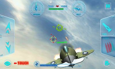 Screenshots of the My Little Plane for Android tablet, phone.