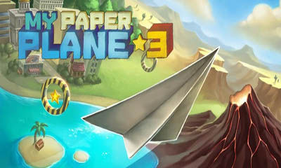 Screenshots of the My Paper Plane 3 for Android tablet, phone.