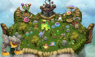 Screenshots of the My Singing Monsters for Android tablet, phone.