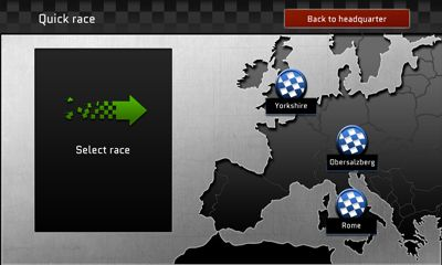 Screenshots of the MyGPTeam Turbo for Android tablet, phone.