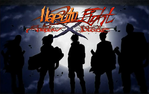 Screenshots of the Naruto fight: Shadow blade X for Android tablet, phone.