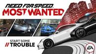 In addition to the game Cut the Rope for Android phones and tablets, you can also download Need for Speed: Most Wanted for free.