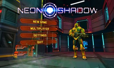 Screenshots of the Neon shadow for Android tablet, phone.