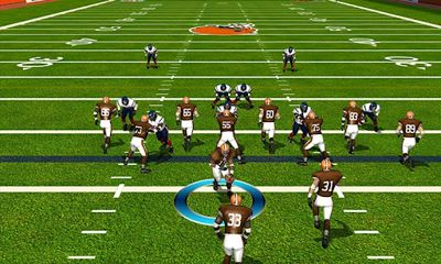 Screenshots of the NFL Pro 2013 for Android tablet, phone.