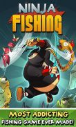 In addition to the game Funny Bounce for Android phones and tablets, you can also download Ninja Fishing for free.