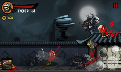 Screenshots of the Ninja Revenge for Android tablet, phone.
