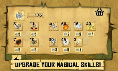 Screenshots of the Ninja Wizard for Android tablet, phone.
