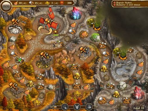 Screenshots of the Northern tale for Android tablet, phone.