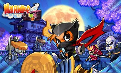 Screenshots of the Nyanko Ninja for Android tablet, phone.