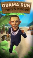 In addition to the game Celebrity smoothies store for Android phones and tablets, you can also download Obama run: Rush and escape for free.
