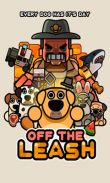 In addition to the game Push the Zombie for Android phones and tablets, you can also download Off the Leash for free.