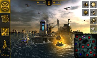Screenshots of the Oil Rush 3D Naval Strategy for Android tablet, phone.