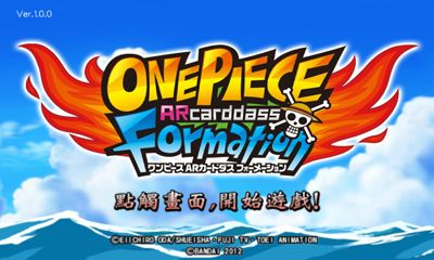 Screenshots of the One Piece ARCarddass Formation for Android tablet, phone.