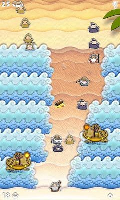 Screenshots of the Open Sea! for Android tablet, phone.