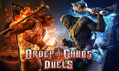 Screenshots of the Order and Chaos Duels for Android tablet, phone.
