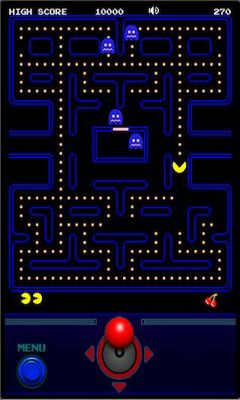 Screenshots of the PAC-MAN by Namco for Android tablet, phone.