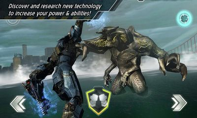 Screenshots of the Pacific Rim for Android tablet, phone.