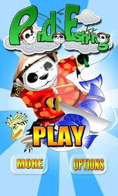 Screenshots of the Panda Fishing for Android tablet, phone.