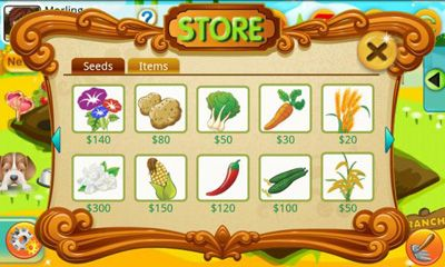 Screenshots of the Papaya Farm for Android tablet, phone.