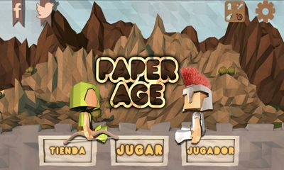 Screenshots of the Paper Age  for Android tablet, phone.