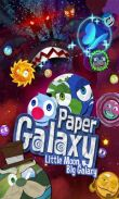 In addition to the game Real Football 2012 for Android phones and tablets, you can also download Paper Galaxy for free.