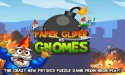 In addition to the game Garfield's Defense 2 for Android phones and tablets, you can also download Paper Glider vs. Gnomes for free.