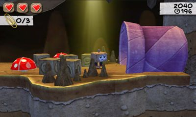 Screenshots of the Paper Monsters for Android tablet, phone.