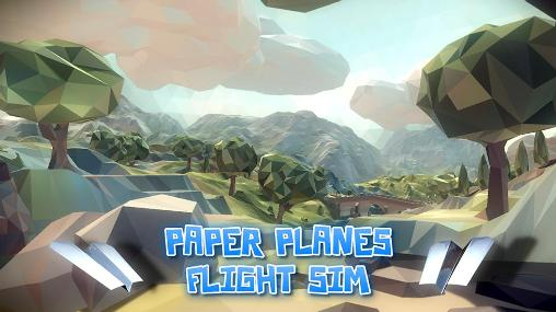 Download Paper planes: Flight sim Android free game. Get full version of Android apk app Paper planes: Flight sim for tablet and phone.