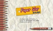 In addition to the game PES 2011 Pro Evolution Soccer for Android phones and tablets, you can also download Paper War for free.