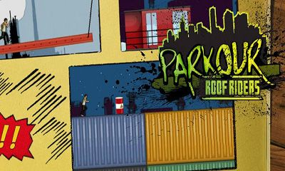 Screenshots of the Parkour Roof Riders for Android tablet, phone.