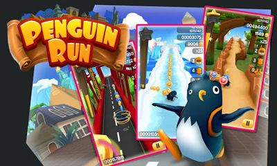 Screenshots of the Penguin Run for Android tablet, phone.