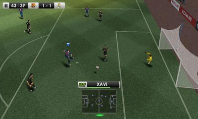 Screenshots of the PES 2012 Pro Evolution Soccer for Android tablet, phone.
