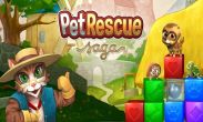 In addition to the game Real racing 3 for Android phones and tablets, you can also download Pet Rescue Saga for free.