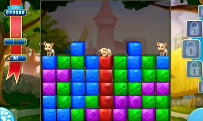 Screenshots of the Pet Rescue Saga for Android tablet, phone.