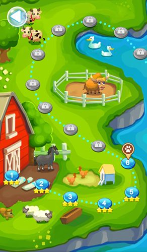 Screenshots of the Pet story for Android tablet, phone.