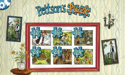 Screenshots of the Pettson's Jigsaw Puzzle for Android tablet, phone.