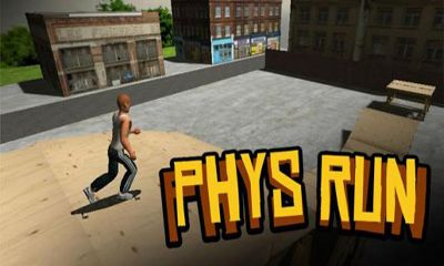 Screenshots of the Phys Run for Android tablet, phone.