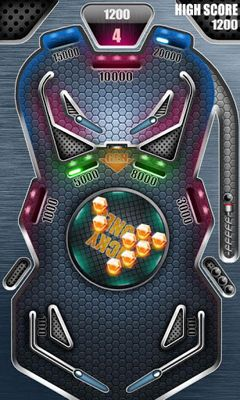 Screenshots of the Pinball Pro for Android tablet, phone.