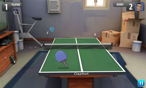 Screenshots of the Ping pong masters for Android tablet, phone.
