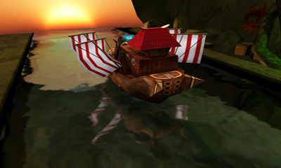 Screenshots of the Pirate Hero 3D for Android tablet, phone.