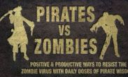 In addition to the game Cogs for Android phones and tablets, you can also download Pirates vs Zombies for free.