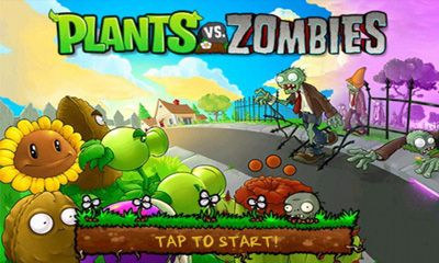 Screenshots of the Plants vs. Zombies for Android tablet, phone.