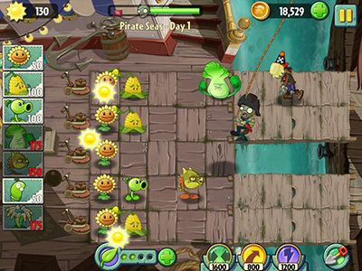 Screenshots of the Plants vs. zombies 2: it's about time for Android tablet, phone.