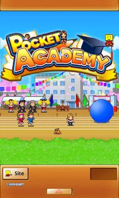 Screenshots of the Pocket Academy for Android tablet, phone.