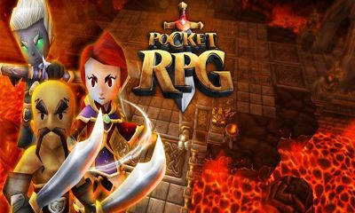 Screenshots of the Pocket RPG for Android tablet, phone.